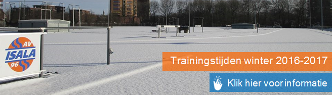 trainingstijden winter